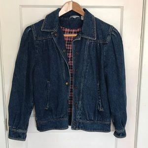 Vintage Fleece-Lined Denim Jacket